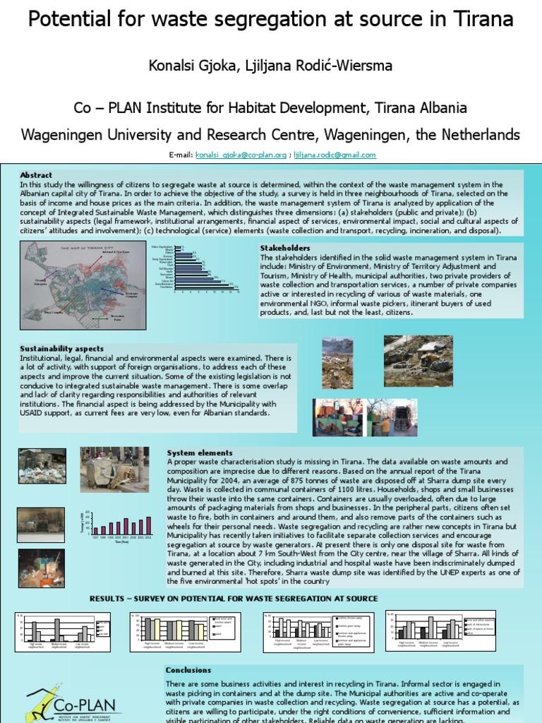 Poster | Waste Management | Waste