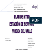 PROYECTO ESTACIÓN DE SERCIO VIRGEN DEL VALLE