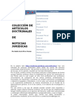 Recavando Articulos Doctrinales Noticias Juridicas