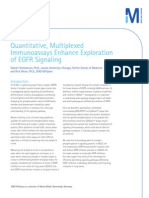 Quantitative, Multiplexed Immunoassays Enhance Exploration of EGFR Signaling