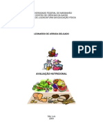 Apostila - Avaliação Nutricional Leonardo de Arruda Delgado