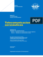 Anexo 10 Vol.3 - Telecomunicaciones Aeronauticas