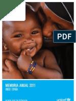 UNICEF España (Memoria 2011)