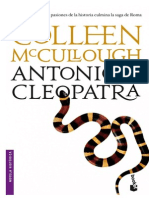 Antonio y Cleopatra - Colleen McCullough
