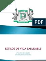 Poli Estilos de Vida Saludable 2012