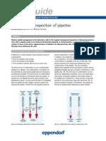 Instrucciones para la inspección y la limpieza de pipetas Eppendorf