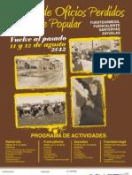 Cartel Jornadas y Oficios Perdidos Ayto Fuentearmegil 2012