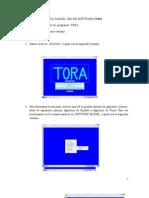 Guia Parael Uso de Software Tora