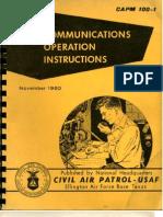 CAPM 100-1 Communications (1960)