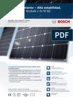 Bosch Solar Module c Si M 60 EU42117 Es