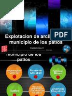 EXPLOTACIÓN DE ARCILLA