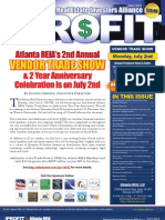 The Profit Newsletter for Atlanta REIA - July 2012