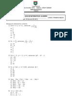 Guia Algebra 2