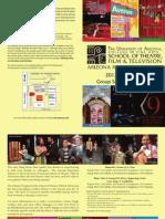 2012-13 Arizona Repertory Theatre Group Sales Brochure