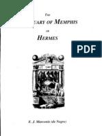 The Sanctuary of Memphis or Hermes; E.j. Marconis
