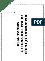 Diagrama Eletrico Monza 1