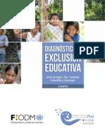 Diagnóstico de Exclusión Educativa Chiapas