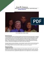Resume Pastoral Staff