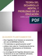 Teoría del desarrollo mental y problemas de la educa Vig. (2)