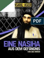 Nasiha Aus Dem Gefängnis