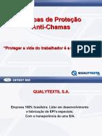 EPI - Proteção Anti Chamas