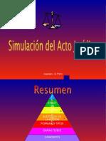 Simulacion Del Acto Juridico
