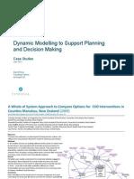 System Dynamics Modelling Case Studies