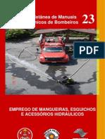 Emprego de Mangueiras, Esguichos e Acessórios Hidráulicos - MTB-23