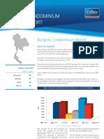 Bangkok Condominium Market Report