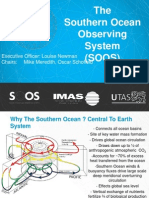 The  Southern Ocean Observing System (SOOS)