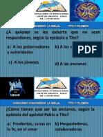 PREGUNTAS DE TITO Y FILEMÓN