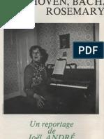 Beethoven, Bach, Mozart, ou… Rosemary Brown ? Un reportage de Joël André