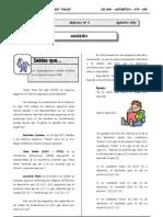 III BIM - Aritmetica Guía 5 - Adición