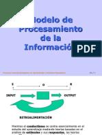 Modelo de Procesamiento de La Informacion