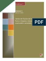 5.6 Serie de Fourier de Funciones Pares o Impares (Desarrollo Cosenoidal o Senoidal)