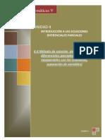 6.4 Metodos de Solucion de Las Ecuaciones Diferenciales Parciales