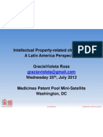 Intellectual Property Related Challenges. A Latin American Perspective