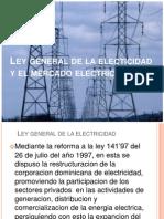 Ley General de La Electicidad y El Mercado