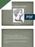 Unidad 10 Marco Junio Bruto José Luis Isarama
