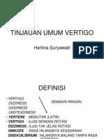 Tinjauan Umum Vertigo - Copy
