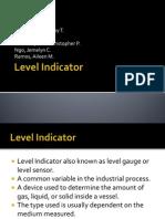 Level Indicator Presentation
