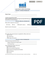 SCIF Application_Large Grant