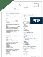Worksheet Form 5