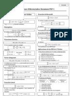 Ecuaciones Diferenciales PEP 1