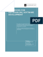 6 Lessons Software Development Outsourcing