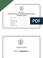 Kkm Agama Islam