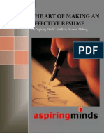 Resume Writing Skills