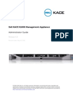 Dell KACE K1000 Admin Guide