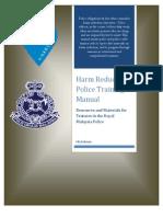 Harm Reduction Police Training Manual