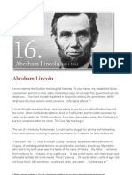 Abraham Lincoln | 1861-1865 |  16th President of the United States,